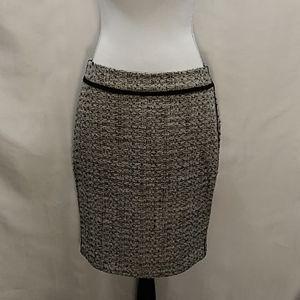 Ann Taylor Petites Tweed Skirt size 8P